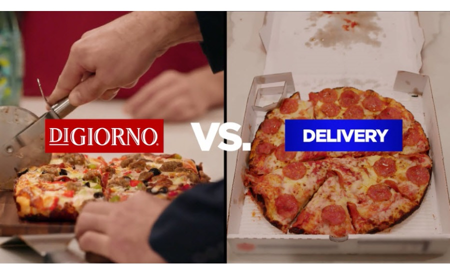 DIGIORNO vs. delivery pizza