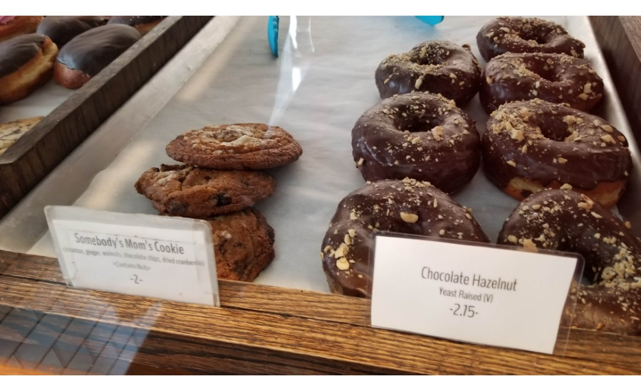 donut choices, Five Daughters Bakery, Nashville