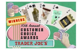Trader Joe 10th Annual Customer Choice Awards Winners
