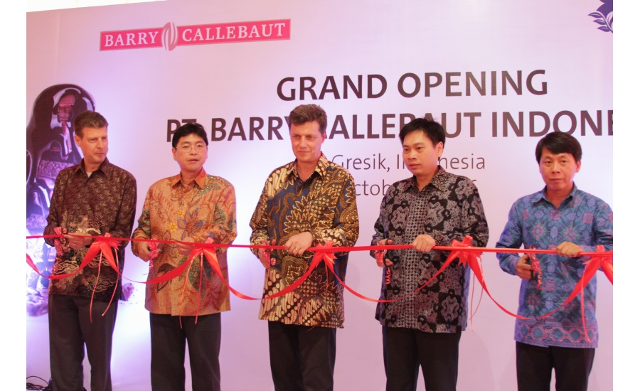 Barry Callebaut new Indonesia facility
