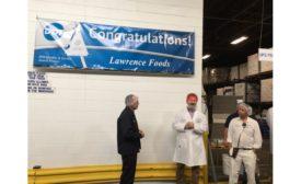 Dot Foods, Lawrence Foods award