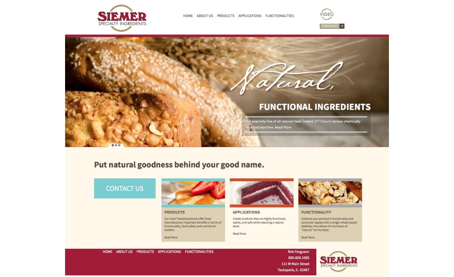 Siemer new website