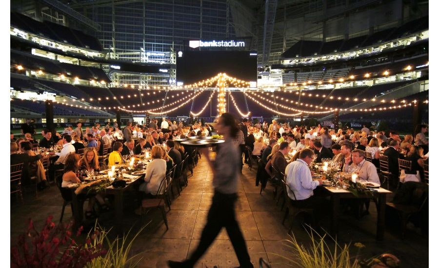 Schwans Company Feast on the Field dinner