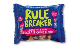 Rule Breaker Snacks vegan, gluten-free brownie