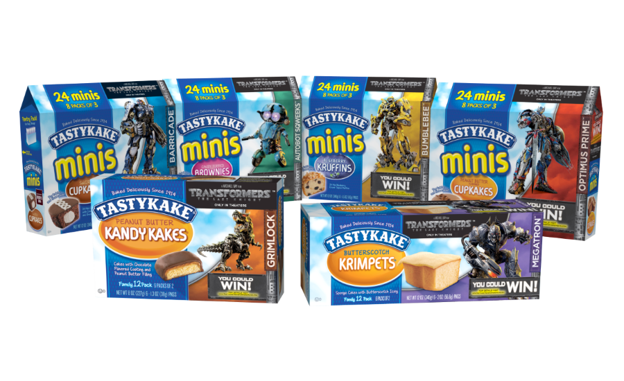 Tastykake partners with Transformers