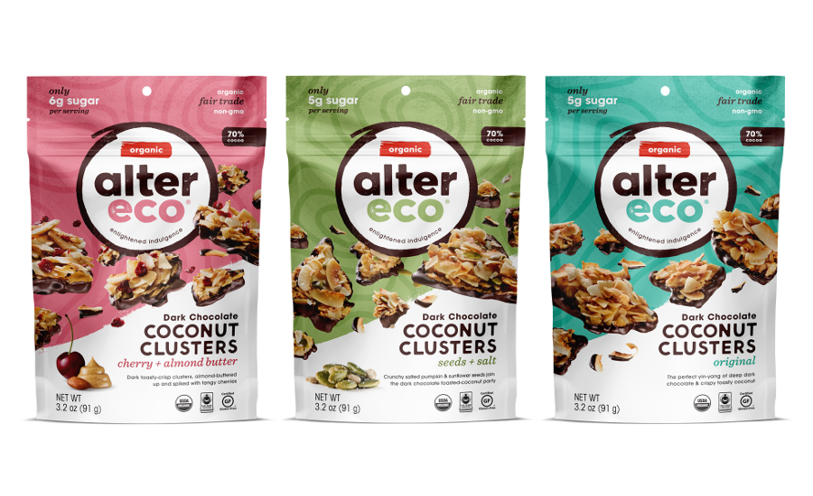 Alter Eco dark chocolate bags