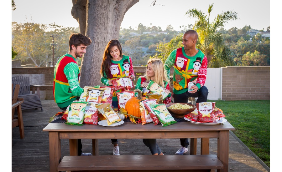 Pasta Chips Sells Over $1.5M of Ugly Sweater-themed Snacks
