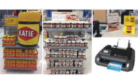Afinia Label partnership with HP and Kmart Australia and Nutella