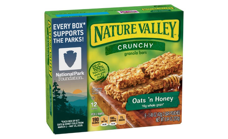 Nature Valley parks partnership