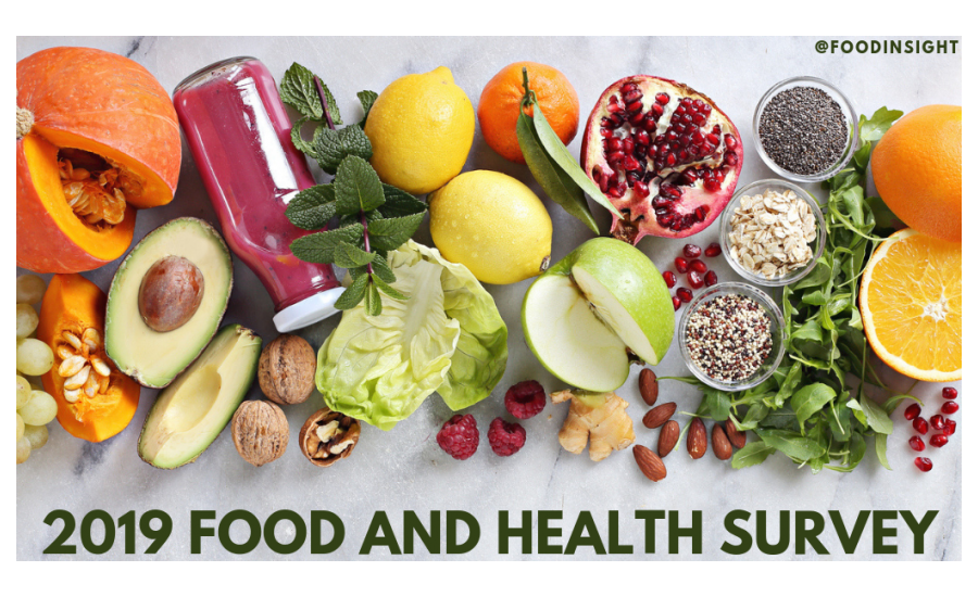 Interest in Sustainability, Plant-Based Diets Among Trends in IFIC Foundation's 2019 Food & Health Survey