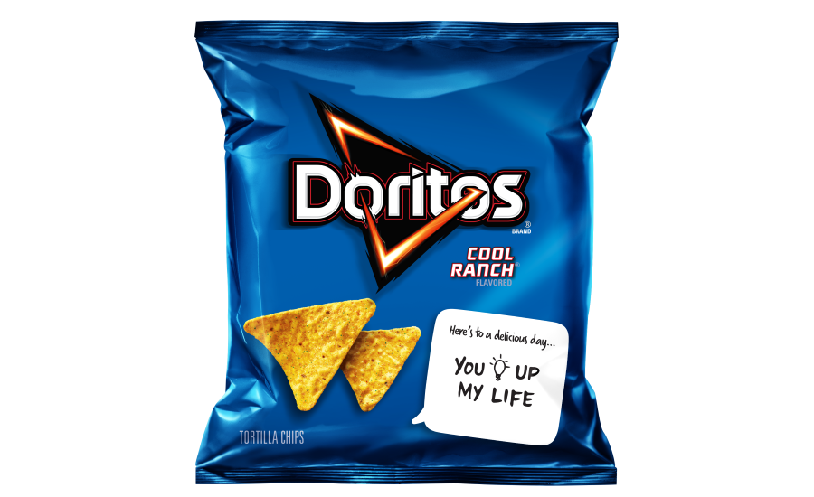 Doritos Cool Ranch Snackable Notes