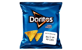 Doritos Cool Ranch Snackable Notes