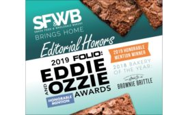 Snack Food & Wholesale Bakery 2019 Folio: Eddie & Ozzie awards runner up for Brownie Brittle article