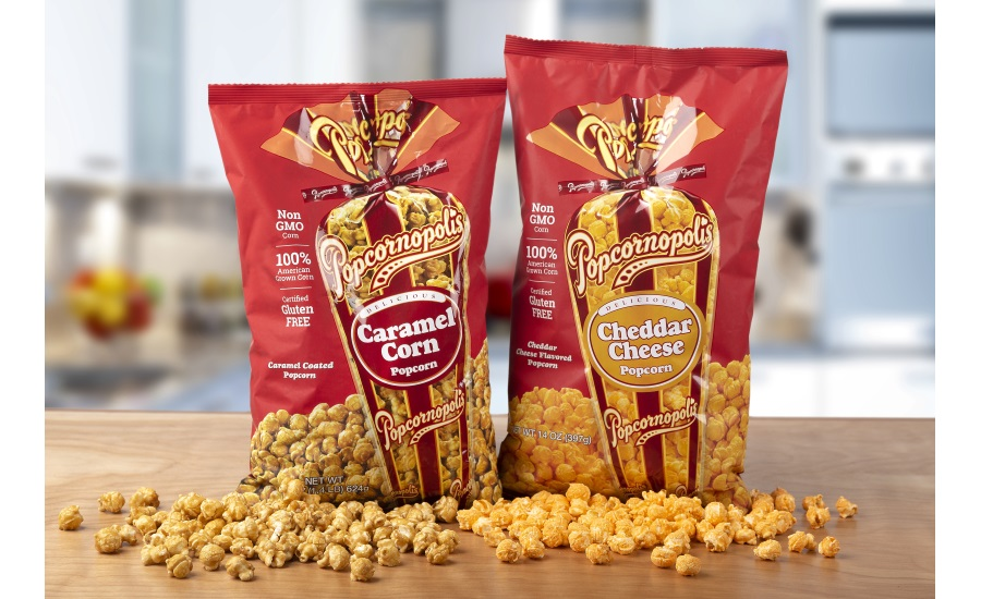 Popcornopolis Caramel Corn & Cheddar Cheese Gourmet Popcorn Bags Debut at Sam's Club Nov. 4