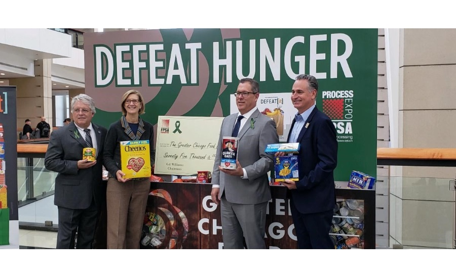 FPSA Donates $75,000 to Greater Chicago Food Depository