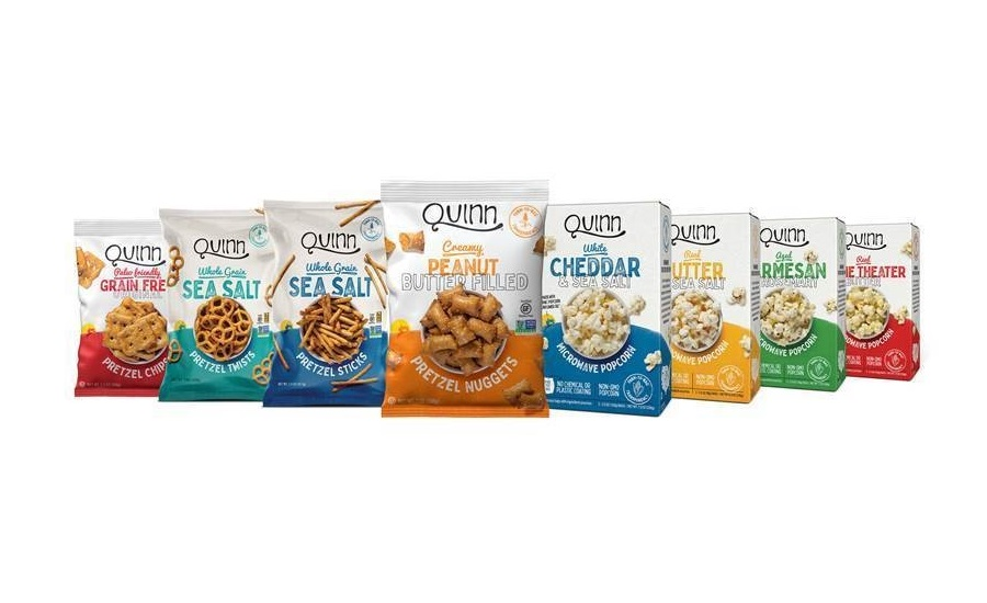 Quinn closes Series D Financing with The Hershey Company