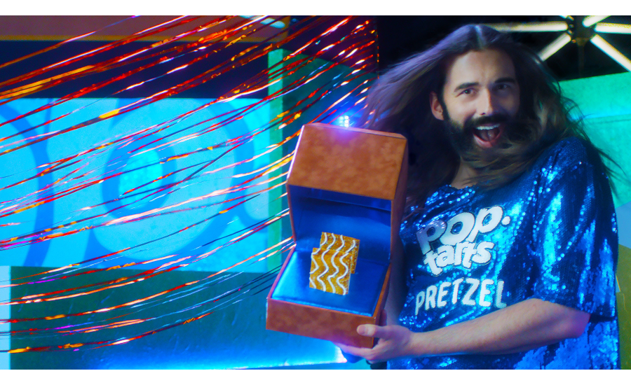 Jonathan Van Ness Brings Out The Best In Everything - Even Pretzels: TV Personality Stars In Big Game Commercial For New Pop-Tarts® Pretzel