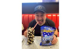 Joey Fatone celebrates National Popcorn Day at Sugar Factory, Orlando