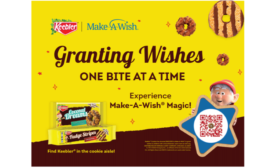 Keebler partners with Make-A-Wish, debuts specially-marked packaging and AR experience