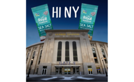 Royal Hawaiian Orchards macadamia nuts help open the season at Yankee Stadium