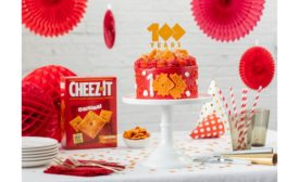 Cheez-It celebrates 100th birthday with Limited Edition Cheez-It Cheez-Itennial Cake, crafted by celebrity chef Stephanie Izard
