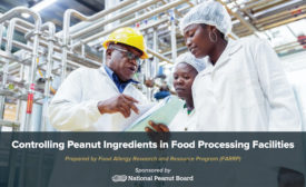 National Peanut Board and FAARP release new resource for managing peanut ingredients in food processing facilities