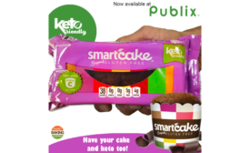Smart Baking Company products to be carried at 124 Publix locations