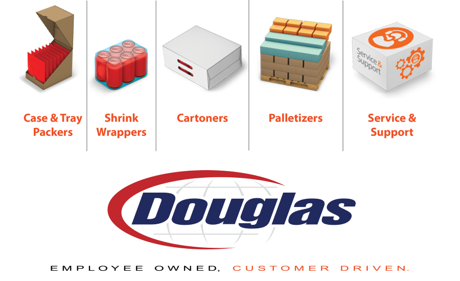 Douglas new website