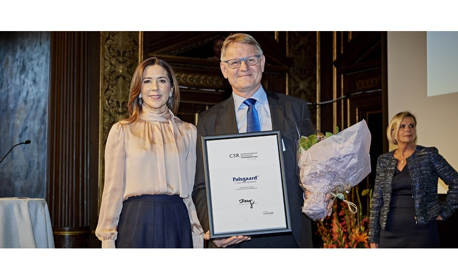 Palsgaard wins CSR Award for third time