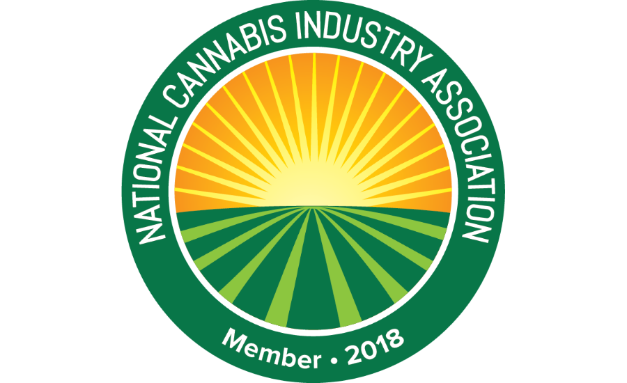 cannabis association member badge