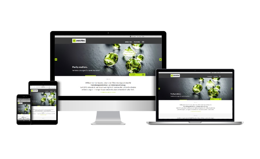 Sesotec redesigns website | 2018-06-13 | Snack and Bakery