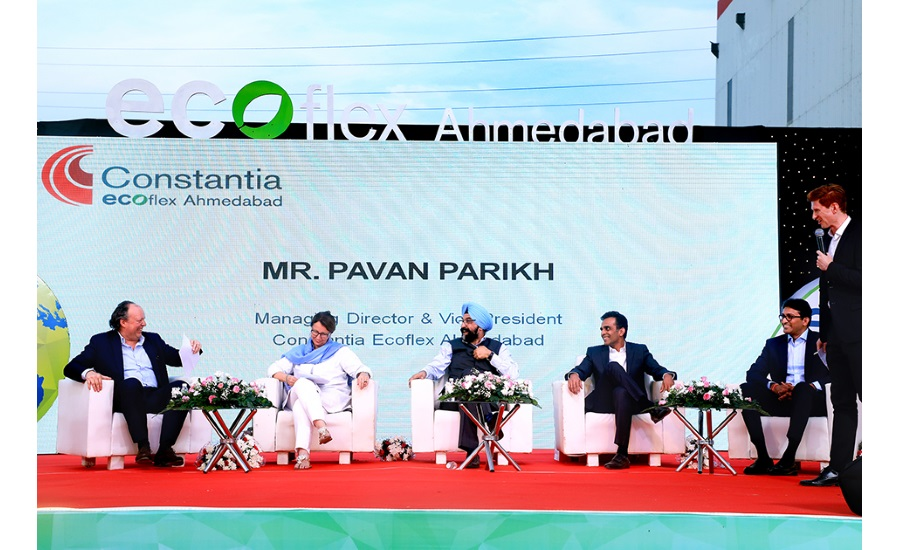 Grand opening of Constantia Ecoflex Ahmedabad the worldwide first more sustainable flexible packaging plant