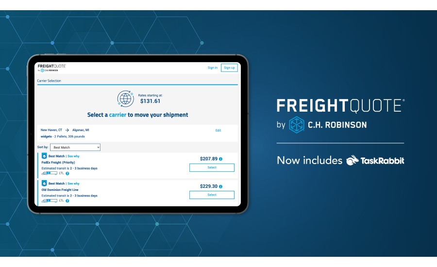 C.H. Robinson brings digital transformation to small business shippers, launching new, first-in-industry tech solutions