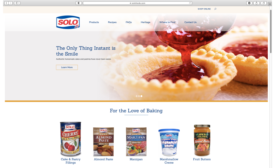 New Solo Foods website launches to inspire bakers