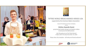 Tiptree World Bread awards USA Bread Heroes with the American Bakers Association