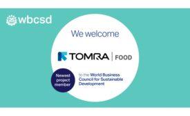 TOMRA Food joins WBCSD