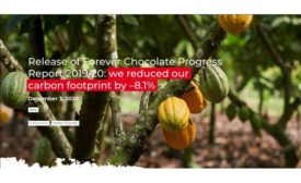 Release of Forever Chocolate Progress Report 2019/20: Barry Callebaut reduces carbon footprint by –8.1 percent