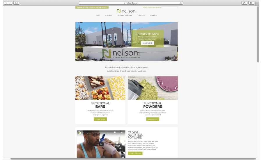 Nellson, LLC launches new website