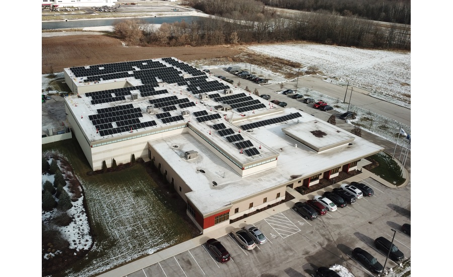 Viking Masek installs rooftop solar array at its US headquarters