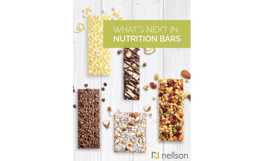 Nellson new white paper highlights trends pushing nutrition bar category forward
