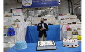 Hanan Products celebrates 75th birthday with giant cake display