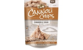 Cinnamon cannoli chips