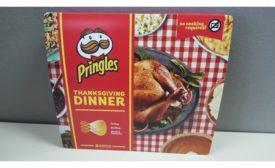 Pringles Thanksgiving Dinner chips