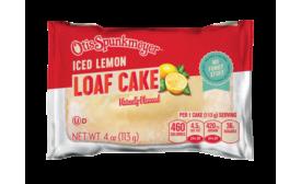 Otis Spunkmeyer lemon loaf cake