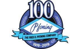 Fred D. Phening Co. anniversary logo