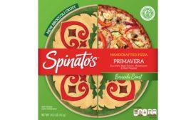 Spinatos broccoli crust frozen pizza