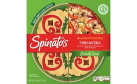 Spinatos broccoli crust frozen pizza