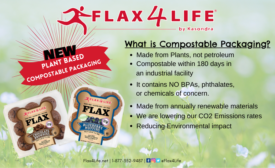 Flax4Life unveils new plant-based compostable packaging