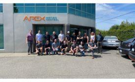 Apex Motion Control celebrates its international reach